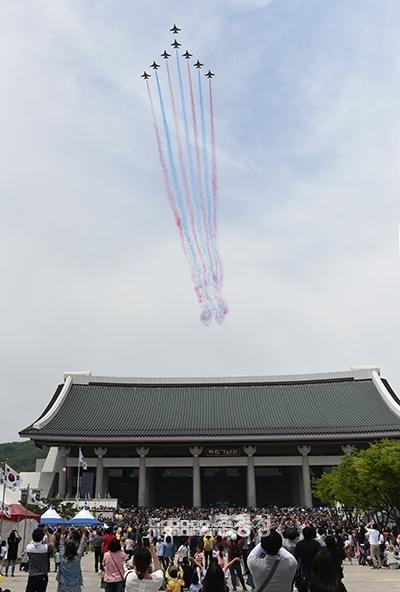지난해 천안 독립기념관에서 열린 어린이날 기념행사. 사진=채원상 기자 (굿모닝충청DB)